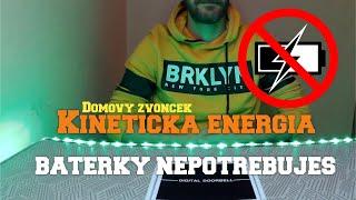 Zvonček Bez Bateriek - Kinetická Energia
