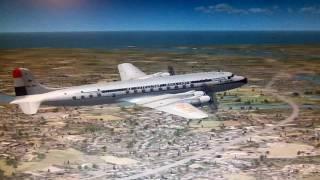 FSX:SE Douglas DC-6 KLM Schipol test flight