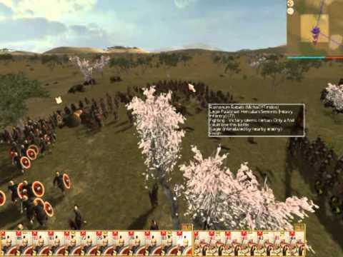 INVASIO BARBARORUM -SOMNIUM APOSTATAE IULIANI -Rome Total War Online Battle