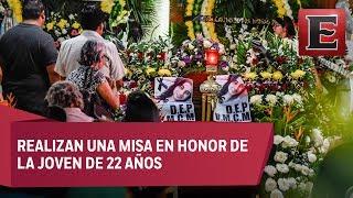 Policías de Veracruz custodian sepelio de hija de diputada federal