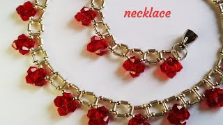 Колье. Простой узор. Necklace. Easy. DIY