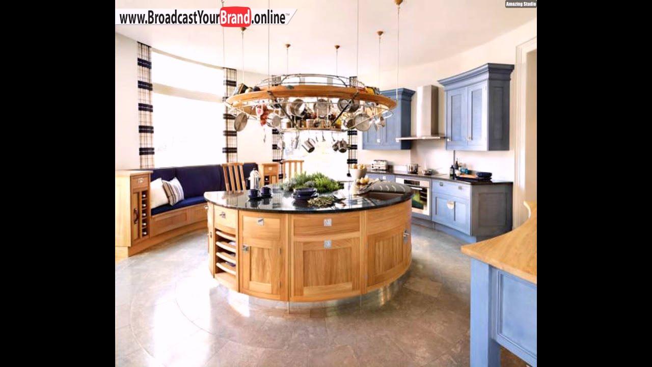 Runde Kucheninsel Stilvolles Design Runde Kochinsel Tolle Ideen