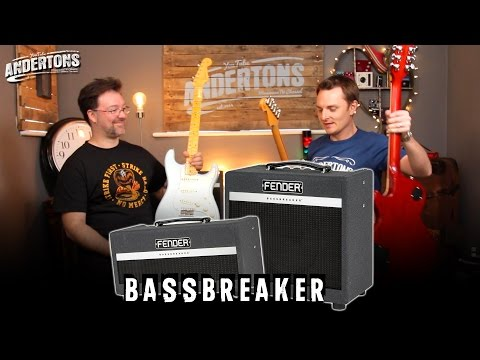 Fender Bassbreaker Guitar Amp Review!! 007 vs 15w Shoot Out!