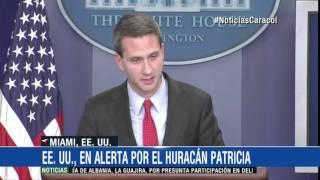 Huracán Patricia tocó tierra en el estado mexicano de Jalisco