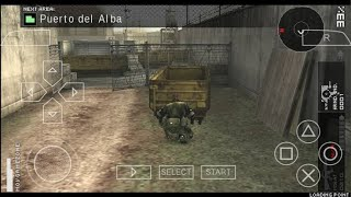 Setting for Metal Gear Solid Peace Walker on PPSSPP