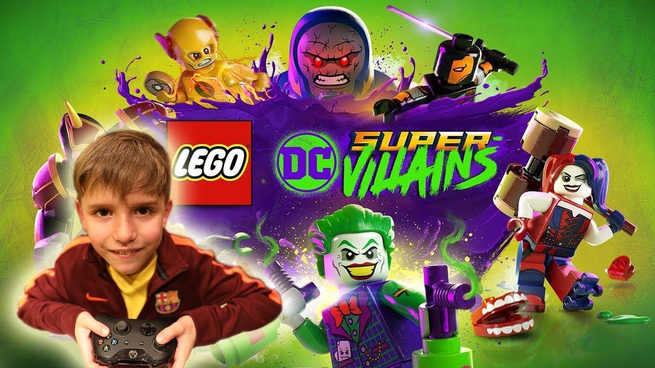 Lego DC Super Villains Video Game Fun XBOX ONE