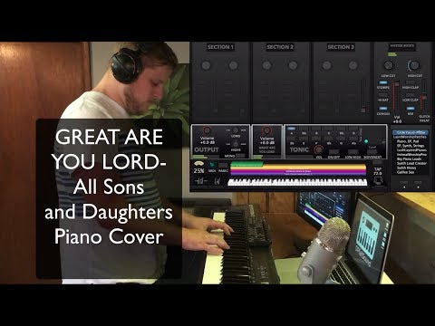 Great Are You Lord MainStage patch- All Sons and Daughters piano cover