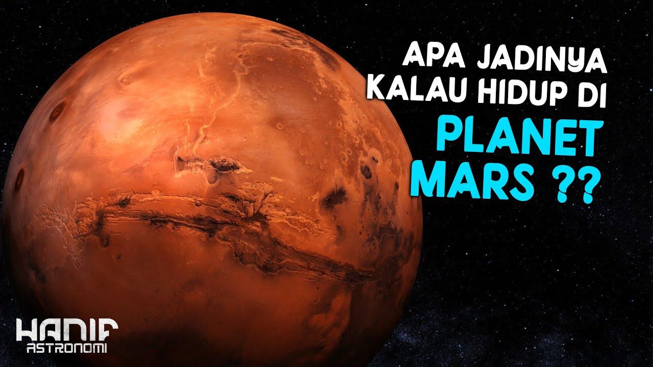 Bagaimana jika Manusia hidup di Planet Mars ?