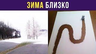 Приколы и мемы. Зима близко | Мемозг #35