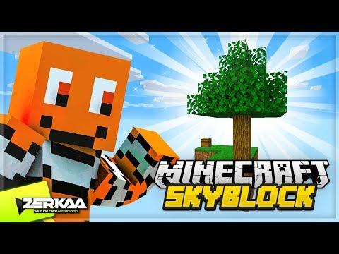 A New MINECRAFT Series! (Minecraft Skyblock #1)