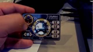 Électronique portable avec Lilypad