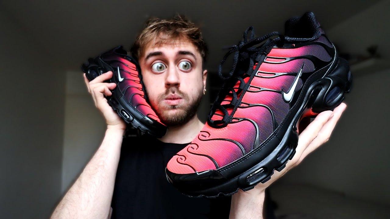 Ma première paire de Nike TN ! (Air Max Plus Gradient Red)