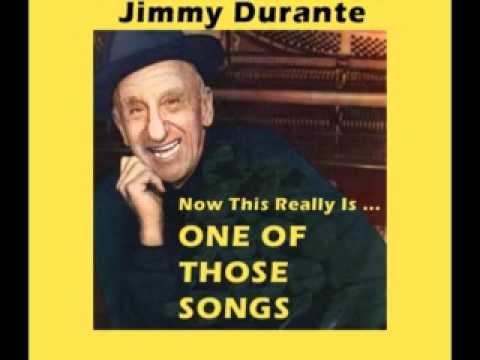 JIMMY DURANTE - One of Those Songs (1966)