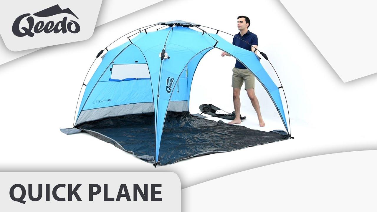 qeedo quick plane strandpavillon youtube. Black Bedroom Furniture Sets. Home Design Ideas