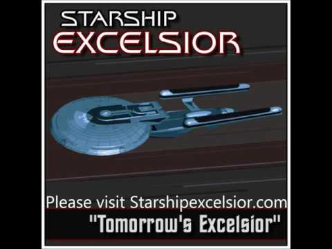 Star Trek Starship Excelsior Tomrrow's Excelsior 50th Anniversary Special Yesterday's