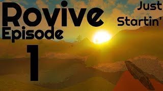 New Roblox Rust - Rovive - Ep. 1 - Roblox