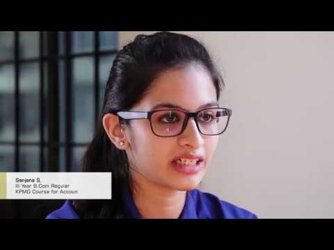 B.Com students sharing their experience | Jain University