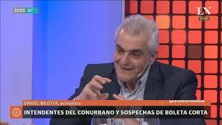 Daniel Bilotta: Intendentes del conurbano y sospechas de boleta corta - Odisea Argentina