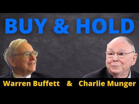 BUY AND HOLD: WARREN BUFFETT E CHARLIE MUNGER