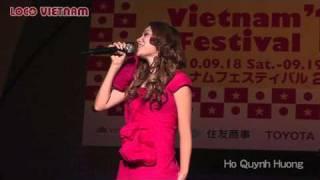 Vietnam Festival 2010 in Tokyo Japan/ Part 6★ Ho Quynh Huong(ホー クイン フオン)on Stage
