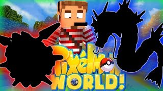 PICK MY TEAM! - PIXELMON WORLD! #4 (Minecraft Pokemon Mod)