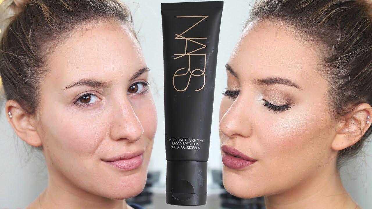 Nars Velvet Matte Skin Tint First Impression Review