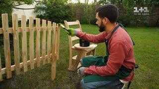 як правильно зробити паркан на дачі