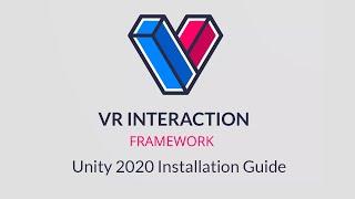 VRIF Installation on Unity 2020