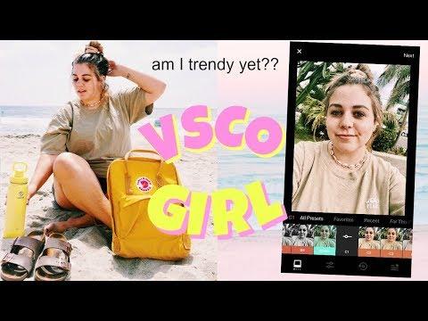 transforming myself into the VSCO girl to rule all VSCO girls