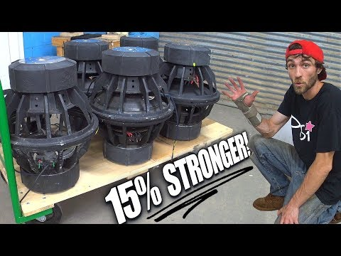 increased-subwoofer-power-15%-by-charging-motor-magnets- -how-to-make-old-subs-louder!