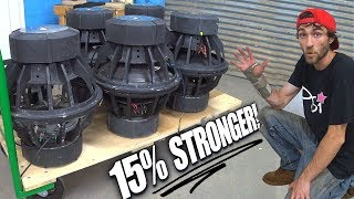 Increased SUBWOOFER Power 15% By CHARGING Motor Magnets | How To MAKE Old Subs LOUDER!