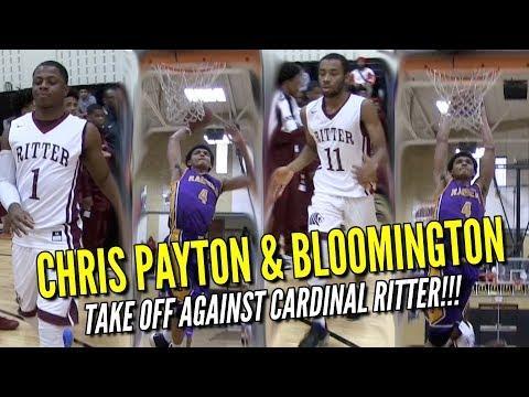 Chris Payton and Bloomington vs. Malek Davis and Cardinal Ritter | Full Game Recap