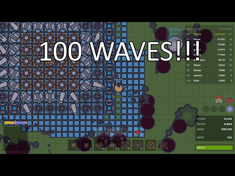 ME vs ∞ ZOMBIES ON ZOMBS.IO!!! 100+ WAVES & 50M+ XP