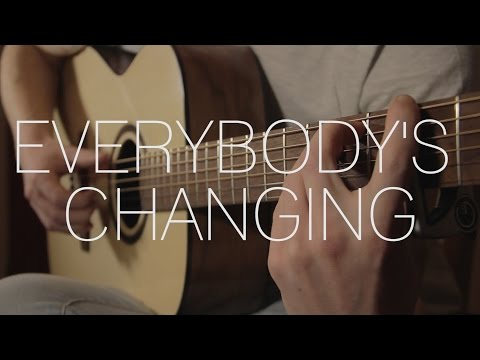 Keane - Everybody's Changing - Fingerstyle Guitar Cover By James Bartholomew