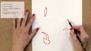 The Squiggle Drawing Game