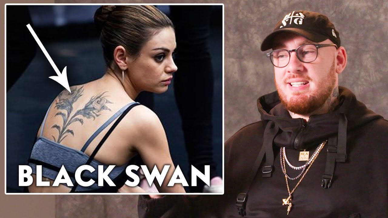 Tattoo Artist Bang Bang Reviews Movie Tattoos, from 'Moana' to 'Black Swan' | Vanity Fair