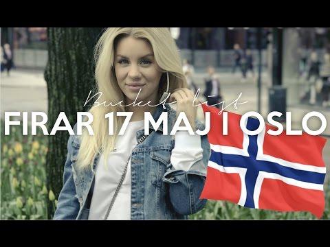 vlogg: FIRAR 17 MAJ I OSLO | Min bucket list 2017