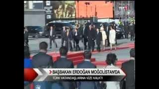 Başbakan Erdoğan'ın Moğolistan Ziyareti