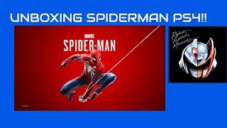 Unboxing Spiderman  Playstation 4 Standar Edition (porque no hay para Xbox One o PC) 😈
