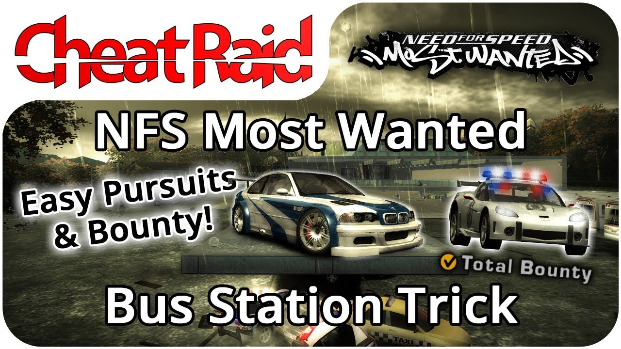 Need For Speed Most Wanted Bus Station Trick Pc Ps2 Xbox Xbox