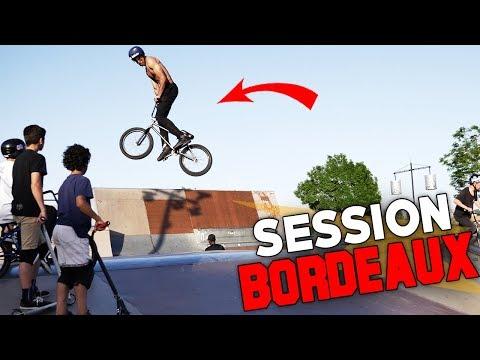 DES TRICKS DE FOU AU SKATEPARK DE BORDEAUX EN BMX !!!
