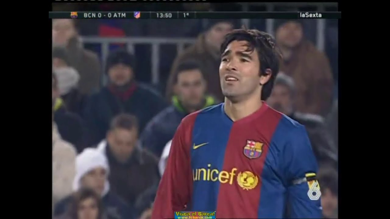 Season 2006 2007 Fc Barcelona Atletico De Madrid 1 1 Highlights Youtube