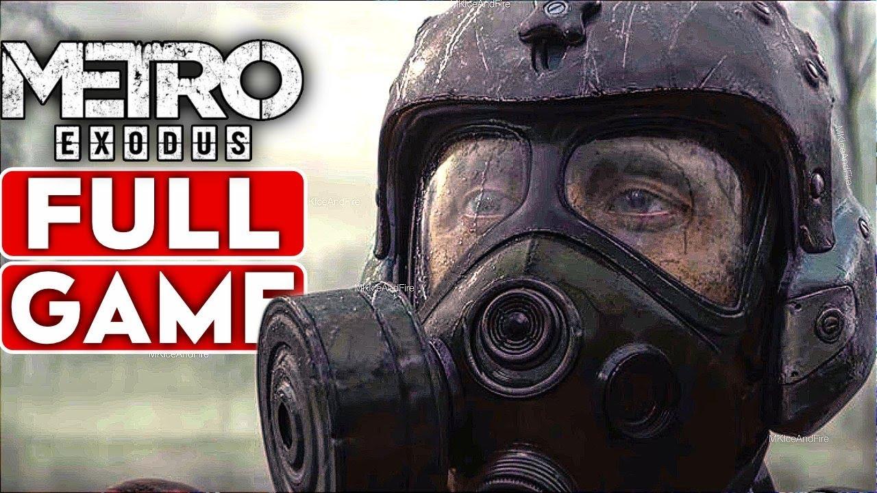 METRO EXODUS Gameplay Walkthrough Part 1 FULL GAME Good Ending [1080p HD 60FPS PC] - No Commentary
