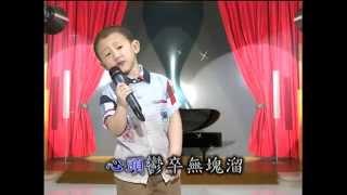 哈酒    3歲10個月李嵩勝  東南西北電視臺  演唱哈酒  5月19日