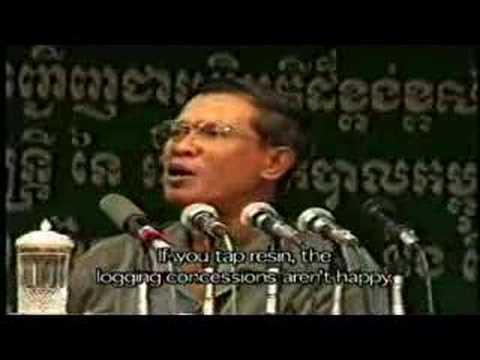 Cambodia: ILLEGAL LOGGING BY CAMBODIA's ELITE (3of4) [EN&KH]