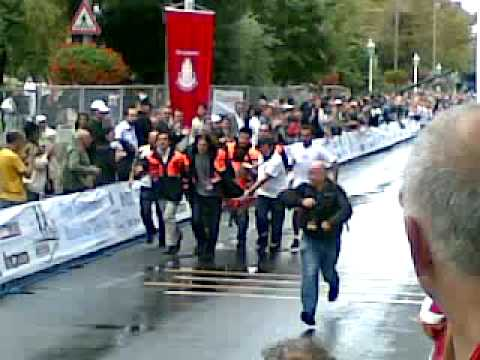 Istanbul Marathon 2009 - Too tired to run!