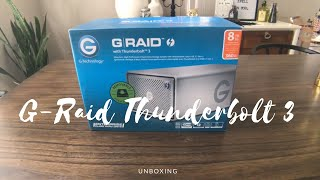 G-Technology G-RAID with Thunderbolt 3 Unboxing!