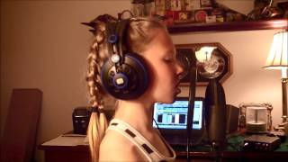 dancing in the sky cover of dani and lizzy s awesome song by 10 year old julia