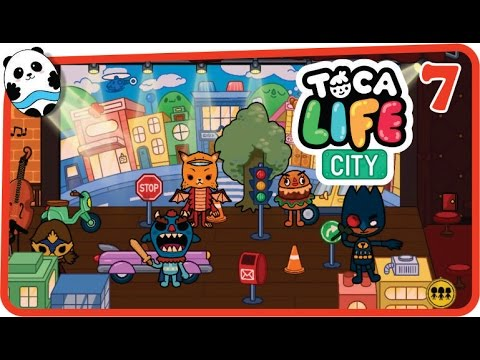 Toca Life: City (by Toca Boca) Part 7 (Theatre) - Best App for Kids
