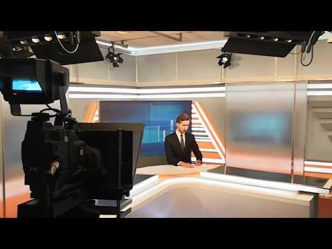 "Backstage со съемок программы ""Новости"" (телеканал ""Терра-РенТВ"")"